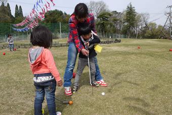 ベビーゴルフ